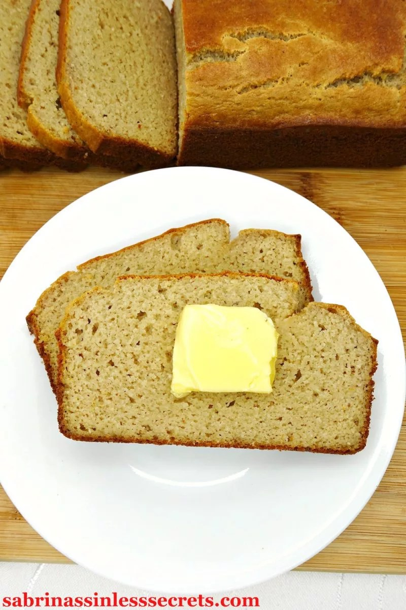 This Easy Paleo Sandwich Bread is fluffy and soft, while still holding its shape as you bite into any type sandwich you prefer! This bread is so simple to make with minimal ingredients that come together without any waiting time or tricky steps! This yummy bread is Paleo, gluten-free, grain-free, yeast-free, refined sugar-free, clean-eating, and totally kid-approved!