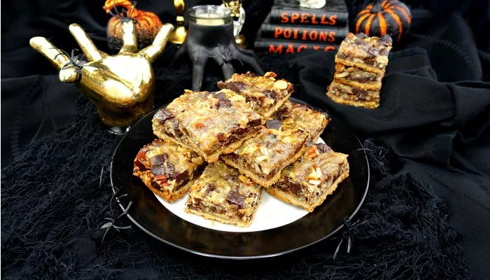 Paleo and Vegan Seven Layer Magic Bars