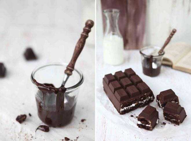 caramel marshmallow brownie chocolate bar