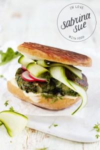 Schwarzwurzel Spinat Burger