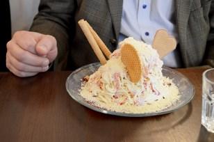 """Spaghetti"" Ice cream!"