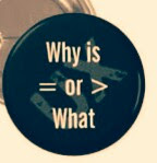 What Really Counts In Life To Be Successful, Is it Why or What?