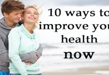 Ways to improve health