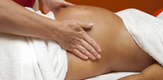 pregnancy stress massage therapy