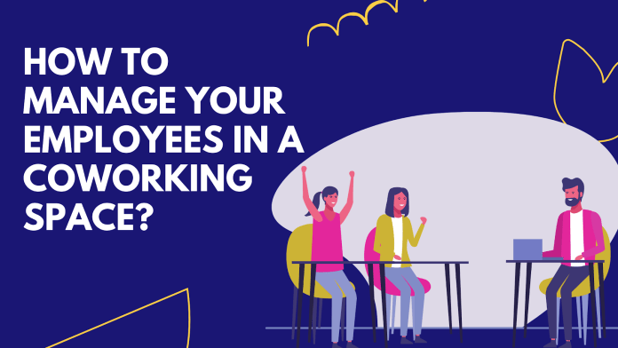 How to Manage Your Employees in a Coworking Space?