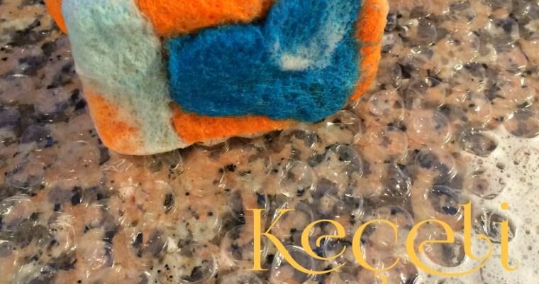 Anneler Günü Hazırlık: Keçeli Sabun