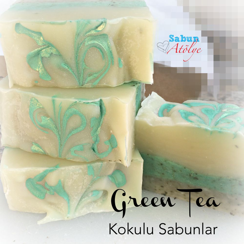 Kokulu Sabunlar: Green Tea