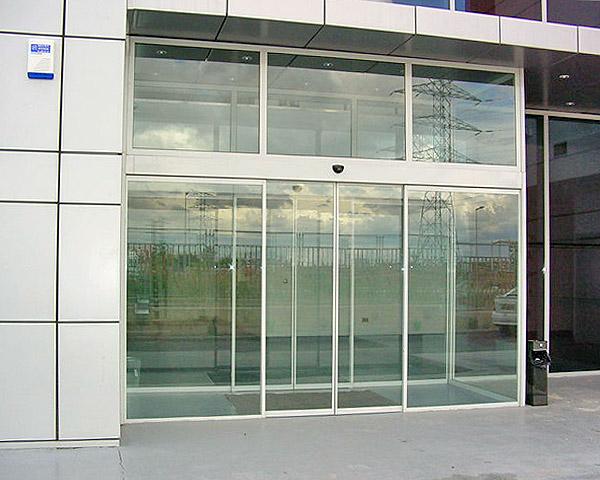 Sliding automatic glass door  Sliding automatic glass