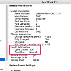 0 Amperage Macbook Battery Dot Diagram For Middle School How To Make Cycle Count Last Longer Noumaan Yaqoob In Pro