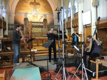 Sacabuche Recording Shot 1
