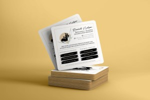 rack card, marketing