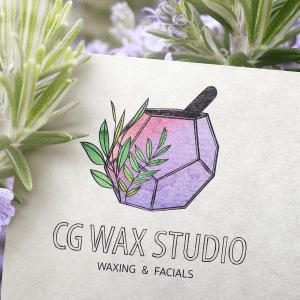 Logo, Wax, Studio, Graphic Design