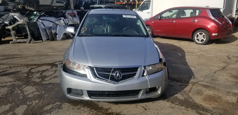 medium resolution of year 2004 make acura model tsx vin jh4cl96984c031238 odometer 0 engine 2 4 liter 4 cylinder transmission automatic color exterior silver