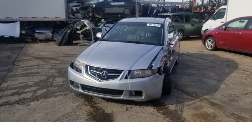 small resolution of year 2004 make acura model tsx vin jh4cl96984c031238 odometer 0 engine 2 4 liter 4 cylinder transmission automatic color exterior silver