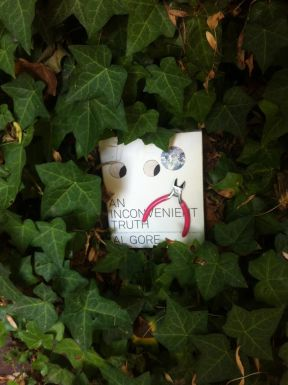 While doing some environmental research, An Inconvenient Truth gets caught in some vines.