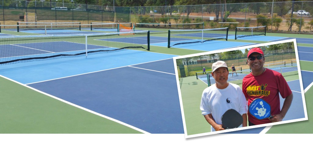 Auburn Pickleball Court with the Guru