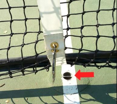 Pickleball Net Strap System