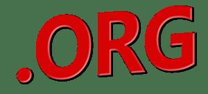 dot org text