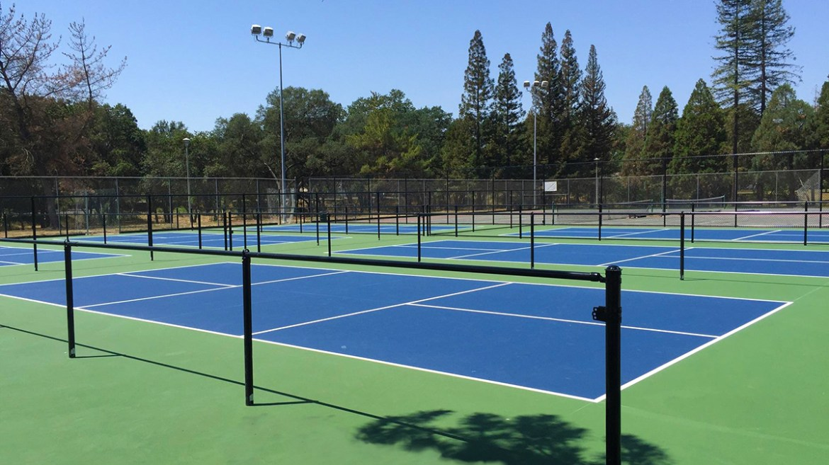 6 New Pickleball Courts Under Construction