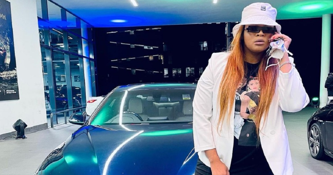 DJ Lady Du is obviously smitten with her fiancé