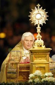 Corpus Christi Benedict XVI