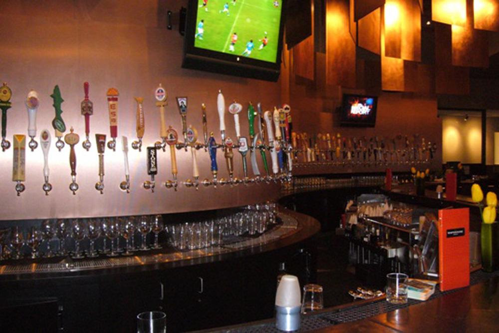 SacFoodies  160 Beers on Tap on the Wall 160 Beers on Tap