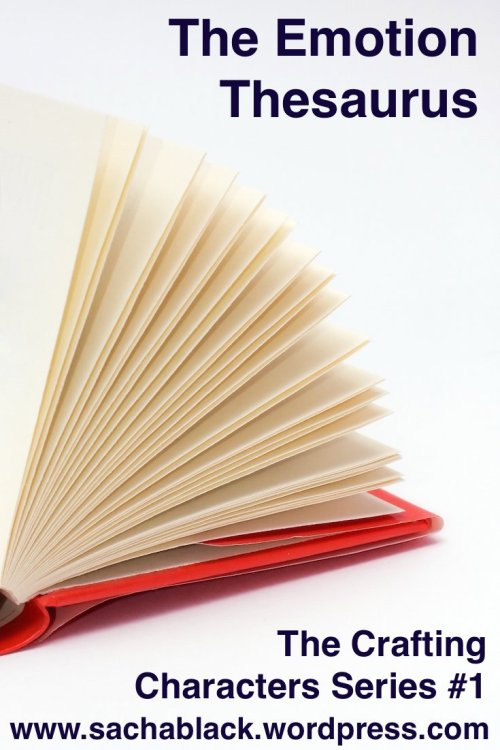 Red hardcover book with flipping pages
