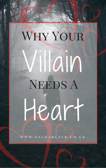 Happy VILLaintines – Why your villain needs a heart #amwriting #ValentinesDay