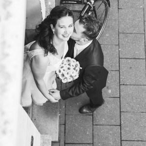 huwelijk Annelies & Raf, bruidskoppel