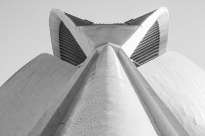 Ciudad de las Artes y las Ciencias, frontaal zicht