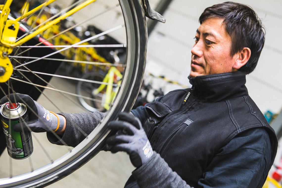 Levanto herstellen fiets