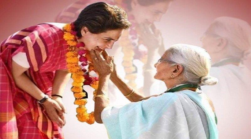 मोदी के संसदीय क्षेत्र में बेबस मां का सहारा बनीं प्रियंका गांधी, बिक्षणे मूकबाधिर बेटे को पहुंचाया घर