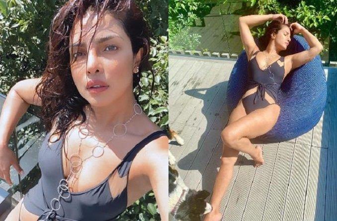 Happy Birthday Priyanka Chopra:'देसी गर्ल' ने स्विमसूट में दिखाया हॉट फिगर, प्री-बर्थडे मूड में आईं नजर