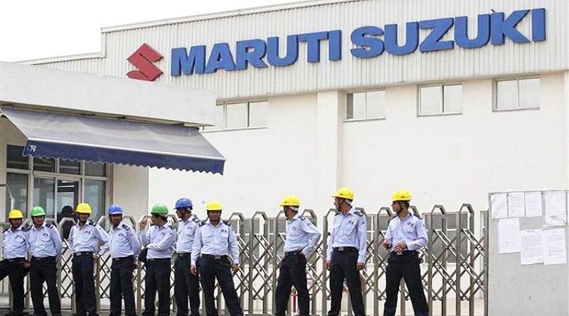 maruti suzuki drops production