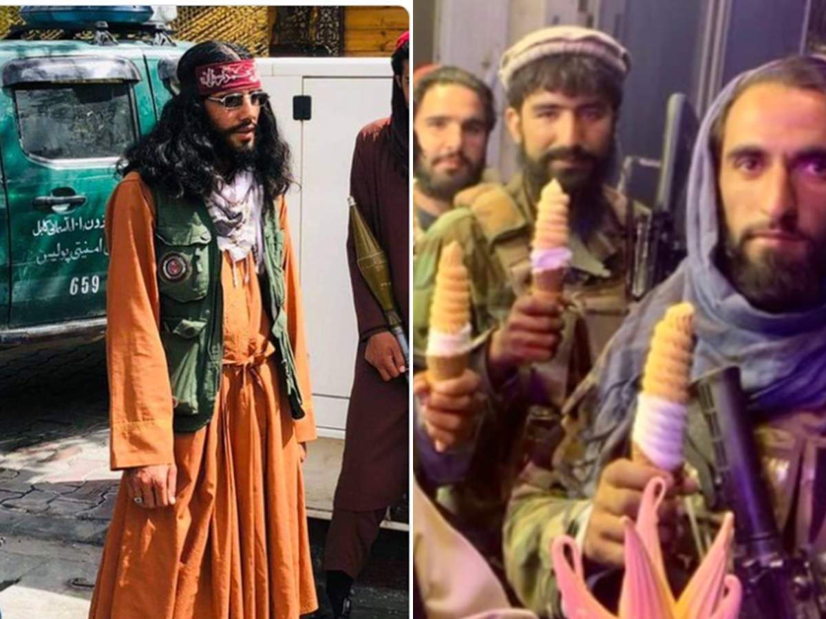 Taliban Fighters Memes/ Funny Photos: ये लड़ाके हैं या किसी सर्कस के बंदर…तालिबानियों की इन तस्वीरों पर यूजर्स ने ली जमकर मौज!