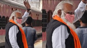Mumbai PM Modi lookalike