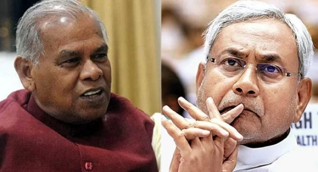Bihr CM Nitish Kumar and Jitan Ram Manjhi