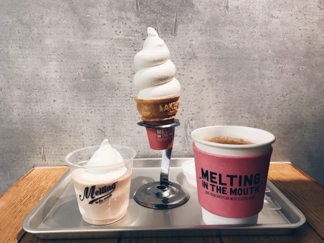 melting in the mouth Tokyo Ice cream 広尾のアイスクリーム