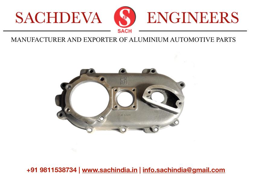 Gear Box Plate Alfa Sachdeva engineers ape Piaggio piaggio ape spare parts , ape auto , sachdeva engineers manufacturer exporter ape piaggio spare parts ,