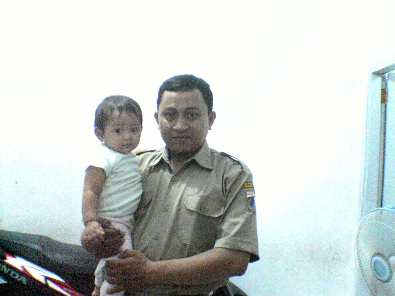 bersama anakku ratu