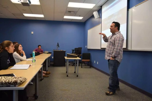 CEO Eric Sachs Guest Lectures On Marketing At CLU | Sachs Marketing Group