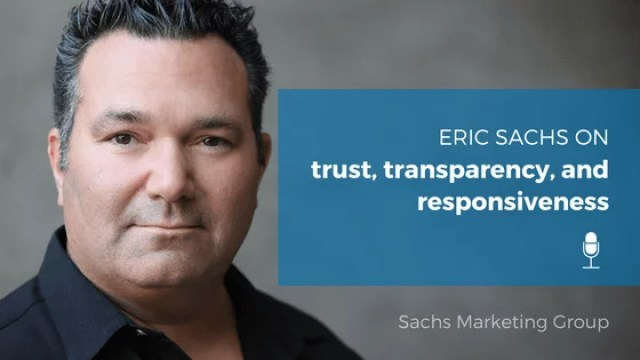 Eric Sachs on EntHead - Sachs Marketing Group