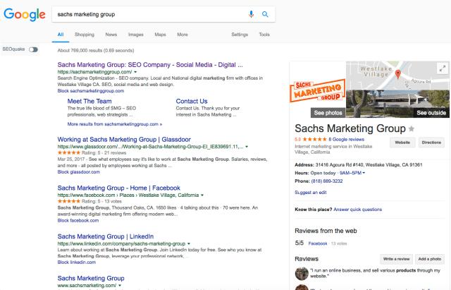 sachs marketing group google search