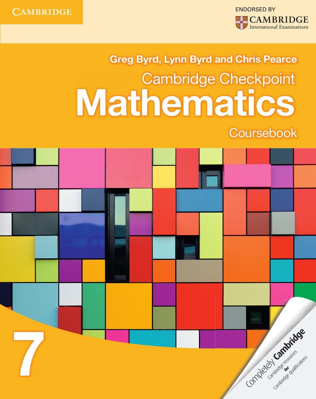 Sach Cambridge Checkpoint Mathematics Coursebook 7