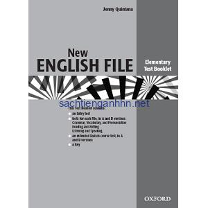 New English File Elementary Test Booklet ebook pdf online