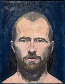 "Walker Keith Jernigan, ""Self-portrait with Glass Eyes"", 2014"