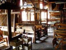 Tessilarte weaving studio for SACI courses