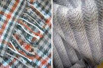 Examples of work by SACI Weaving students