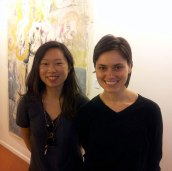 SACI students, Hana Sackler and Anastasia Soboleva