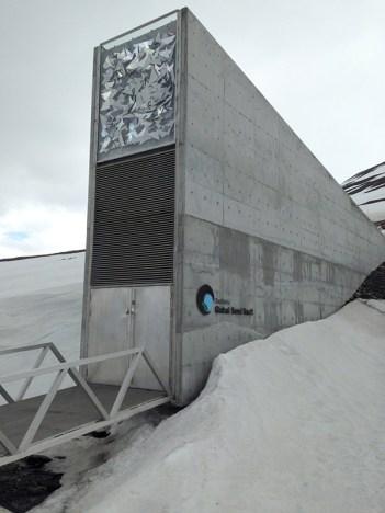 Global Seed Vault in Longyearbyen (Photo by Keri Rosebraugh)